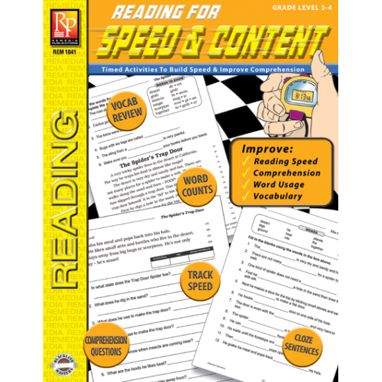 Reading for Speed & Content (Gr. 3-4)
