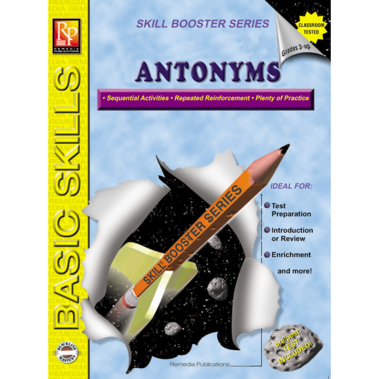 Skill Booster Series: Antonyms