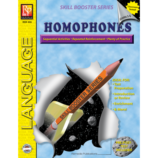 Skill Booster Series: Homophones