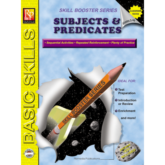 Skill Booster Series: Subjects & Predicates
