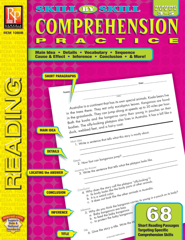 - Skill-By-Skill Comprehension Practice (Rdg. Lvl. 3-5)