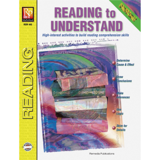 Specific Skills Series: Reading to Understand