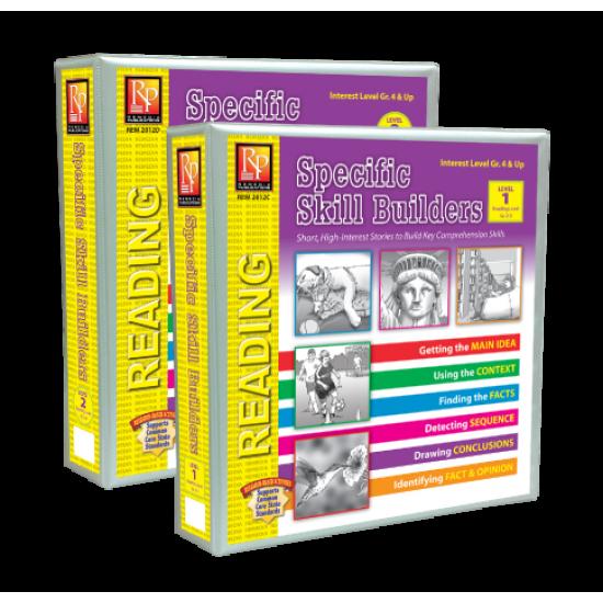 Specific Skill Builders (Both Binders)