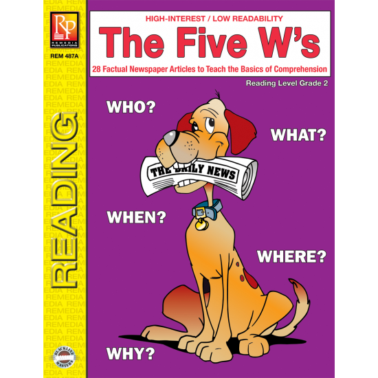 The Five W's (Reading Level 2)