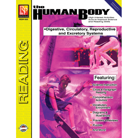 The Human Body: Digestive, Circulatory, Reproductive, & Excretory Systems