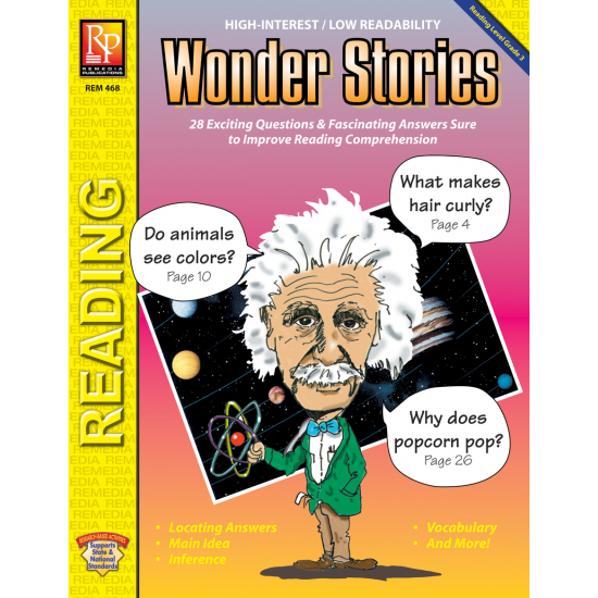 Wonder Stories (Reading Level 3)