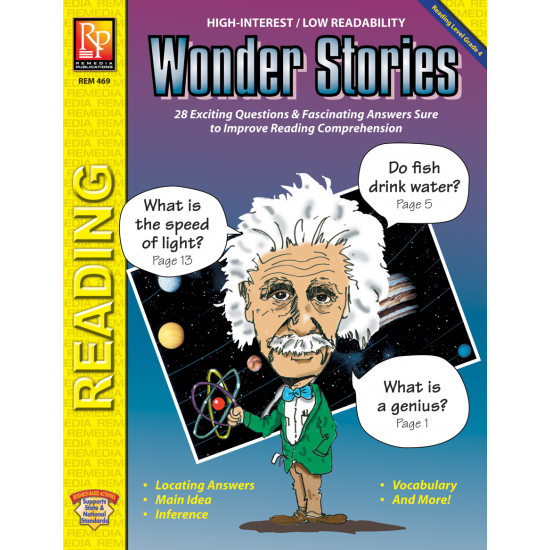 Wonder Stories (Reading Level 4)