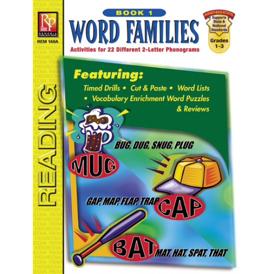 Word Families (Book 1)