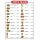 Menu Math for Beginners (Activity Book)