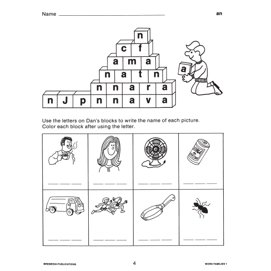 Word Families (3-Book Set)