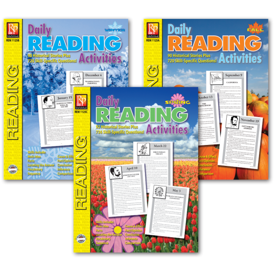 Daily Reading Activities (3-Book set)