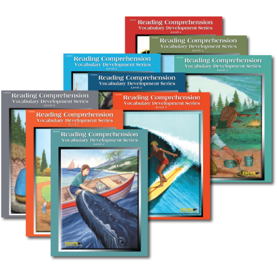 Reading Comprehension & Vocabulary Development: RL 8-10 (9-Book Set)