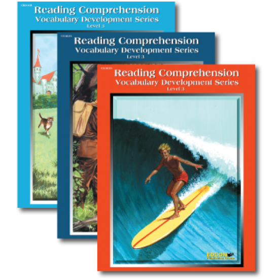 Reading Comprehension & Vocabulary Development: RL 3 (3-Book Set)
