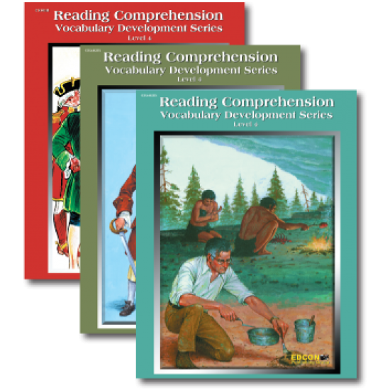 Reading Comprehension & Vocabulary Development: RL 4 (3-Book Set)