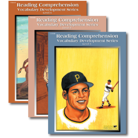 Reading Comprehension & Vocabulary Development: RL 5 (3-Book Set)