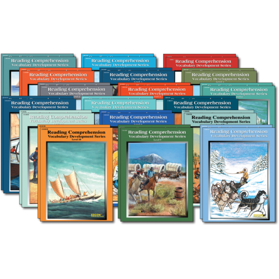 Reading Comprehension & Vocabulary Development (27-Book Set)