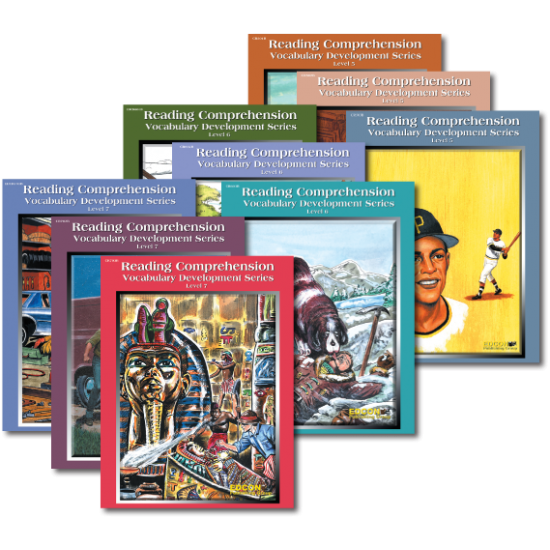 Reading Comprehension & Vocabulary Development: RL 5-7 (9-Book Set)