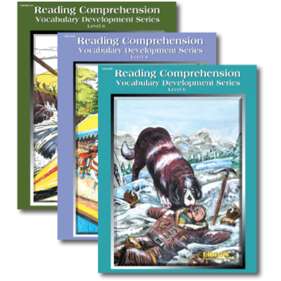 Reading Comprehension & Vocabulary Development: RL 6 (3-Book Set)
