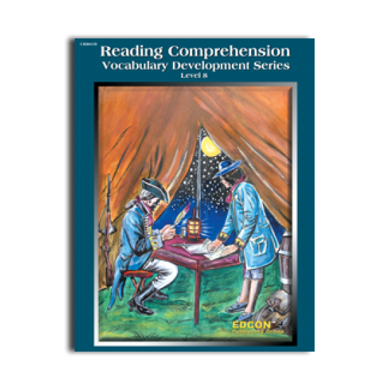Reading Comprehension & Vocabulary Development: RL 8 (Book 1)