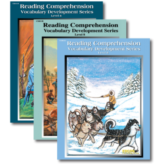 Reading Comprehension & Vocabulary Development: RL 8 (3-Book Set)