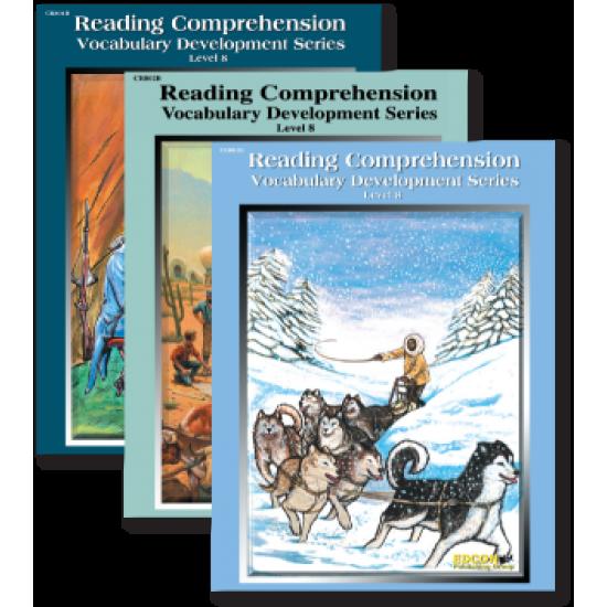 Reading Comprehension & Vocabulary Development: RL 8 (3-Book Set)