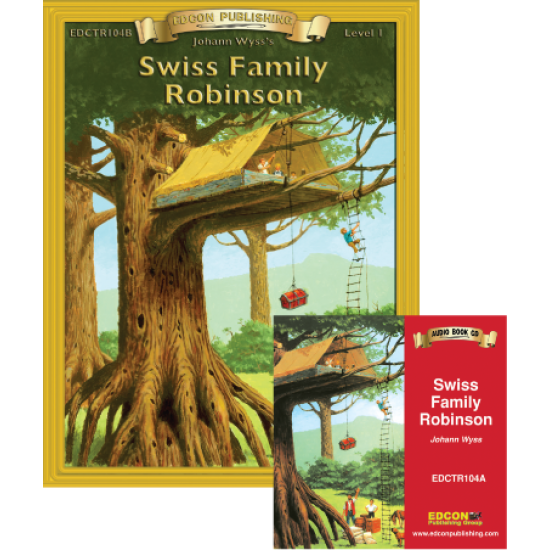 High-Interest/Low Readability Classics: Swiss Family Robinson Set