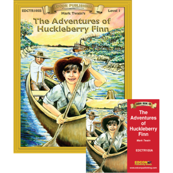 High-Interest/Low Readability Classics: The Adventures of Huckleberry Finn Set