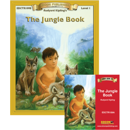 High-Interest/Low Readability Classics: The Jungle Book Set