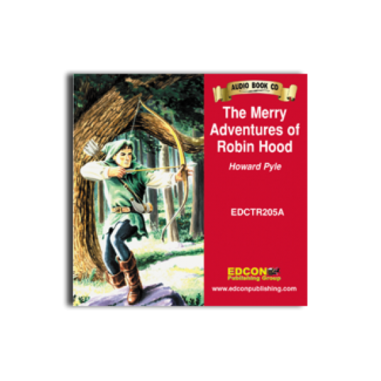High-Interest/Low Readability Classics: The Merry Adventures of Robin Hood Audio CD