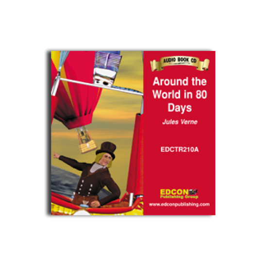 High-Interest/Low Readability Classics: Around the World in 80 Days Audio CD