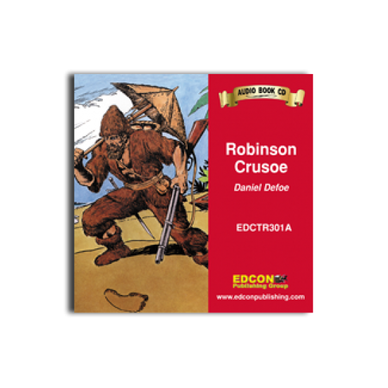 High-Interest/Low Readability Classics: Robinson Crusoe Audio CD