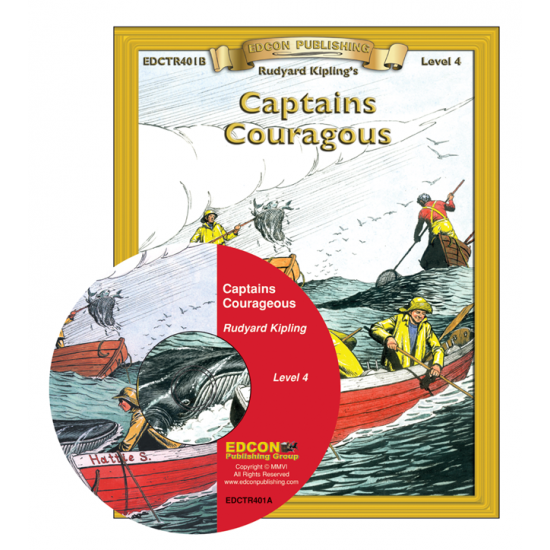 High-Interest/Low Readability Classics: Captains Courageous Set