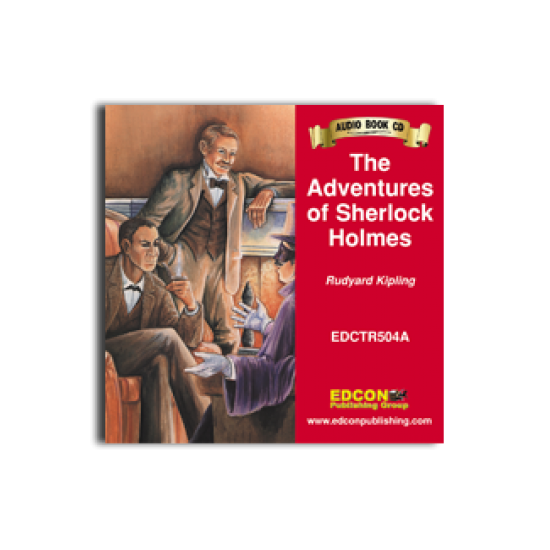 High-Interest/Low Readability Classics: Adventures of Sherlock Holmes Audio CD
