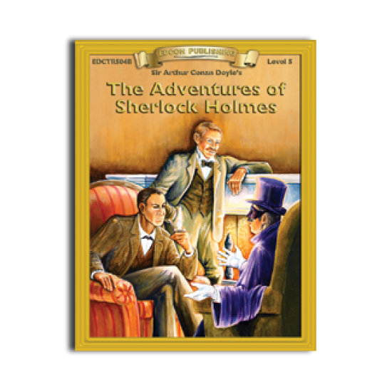 High-Interest/Low Readability Classics: Adventures of Sherlock Holmes
