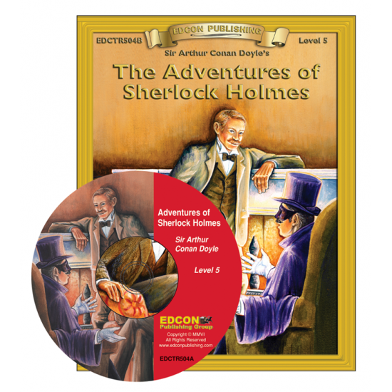 High-Interest/Low Readability Classics: Adventures of Sherlock Holmes Set