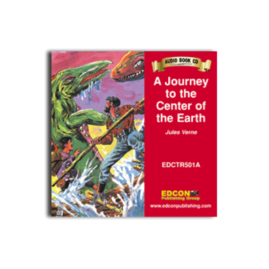 High-Interest/Low Readability Classics: A Journey to the Center of the Earth (Audio CD)