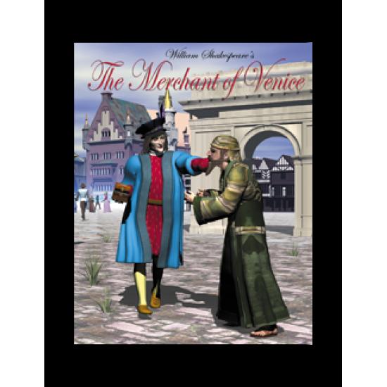 Easy Reading Shakespeare: The Merchant of Venice (eBook)