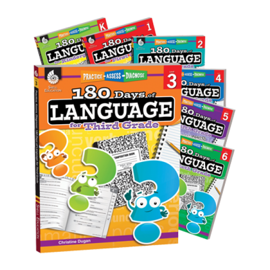 180 Days of Language (7-Book Set)