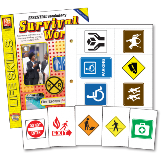 Survival Signs & Symbols (Activity Book & Flash Cards)