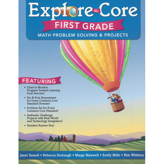 Explore the Core: Math Problem Solving & Projects (Grade 1)