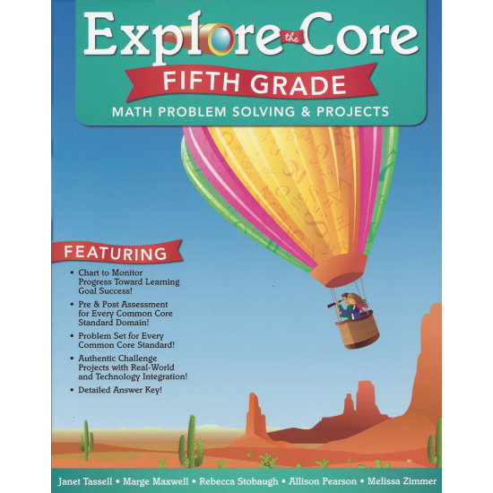 Explore the Core: Math Problem Solving & Projects (Grade 5)