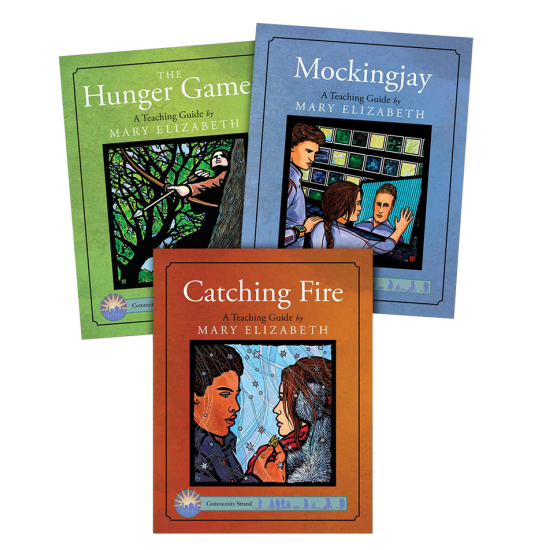 Hunger Games Trilogy: Discovering Literature Teaching Guides (3-Book Set)