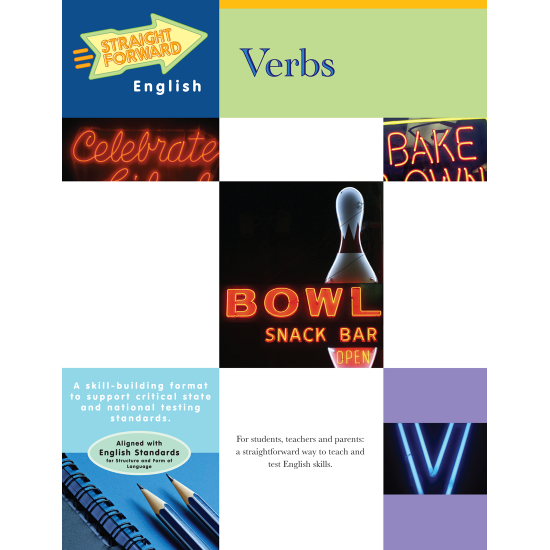 Verbs: Straight Forward English Language Arts Series