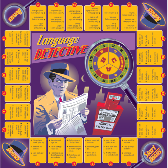 Language Detective Game