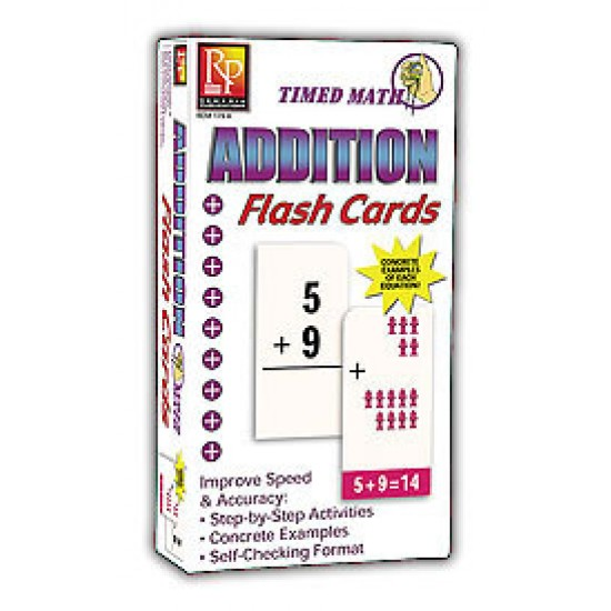 Timed Math Flash Cards: Addition