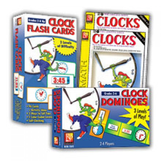 Clocks Learning Kit