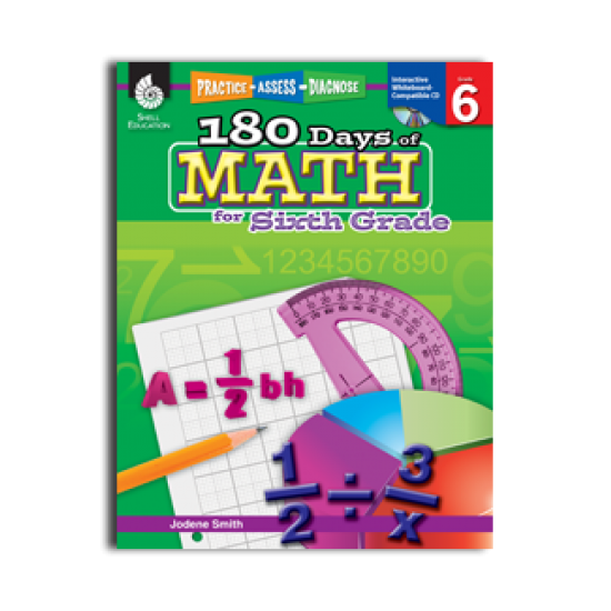 180 Days of Math (Grade 6)