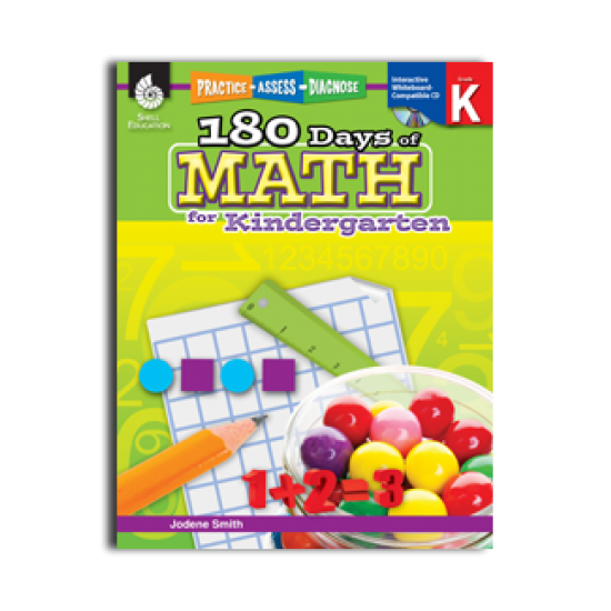 180 Days of Math (Grade K)