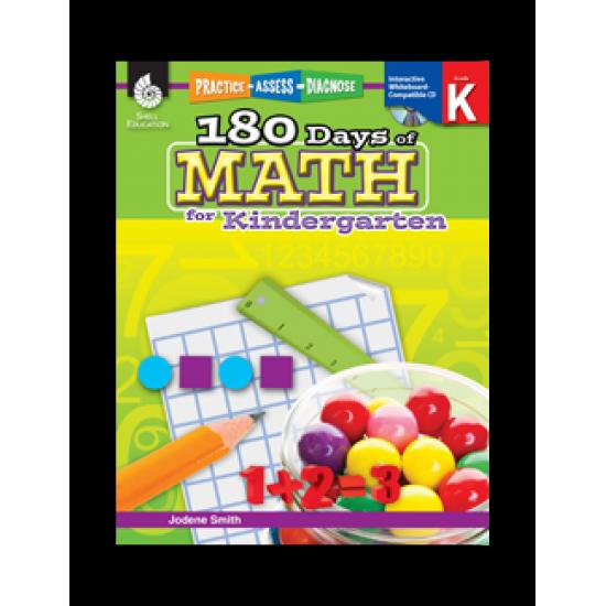 180 Days of Math (Grade K)