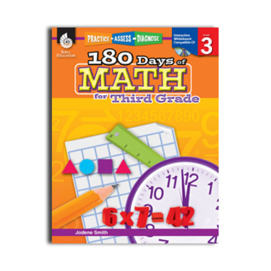 180 Days of Math (Grade 3)